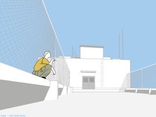 обои GTO - Онизука на крыше фото