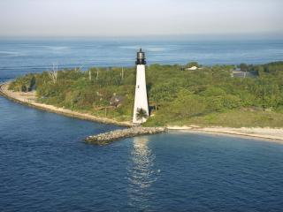 обои Cape Florida Lighthouse,   Key Biscayne,   Florida фото