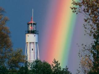 обои At the Foot of the Rainbow фото