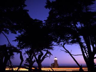 обои Mark Abbott Memorial Lighthouse,  Santa Cruz,  California фото