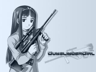 обои Gunslinger Girl - Симпатичная девочка фото