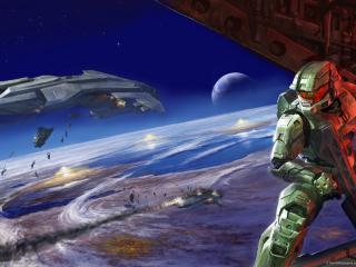 обои Games Halo World фото
