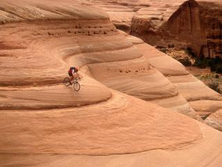 обои Езда по горам фото