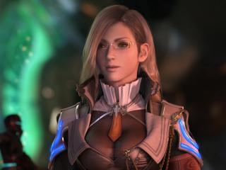 обои Final Fantasy - Девушка в очках фото