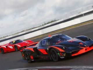 обои Ferrari FXX Racing фото