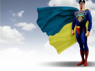 обои Украинський супермен фото