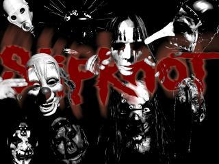 обои для рабочего стола: Slipknot. Старые маски