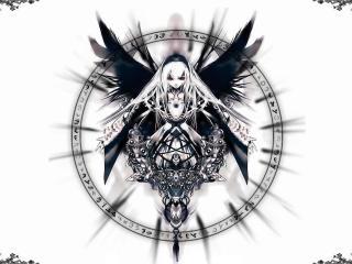 обои Rozen Maiden - Девушка с крыльями фото