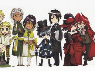 обои KuroShitsuji - персонажи фото