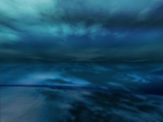 обои Стелится синий туман фото