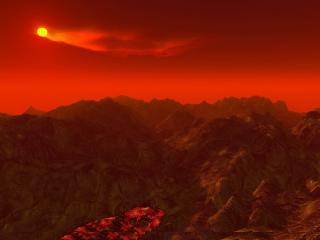 обои Местность активных вулканов фото