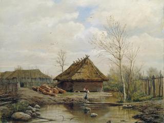 обои Брюллов Весна 1875 фото