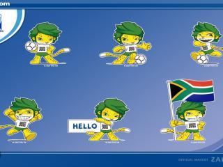 обои South Africa 2010 Hello фото