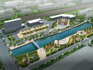 обои Городской канал вид сверху фото