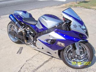 обои Suzuki-hayabusa-gsx синий фото