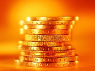 обои Монеты из золота фото