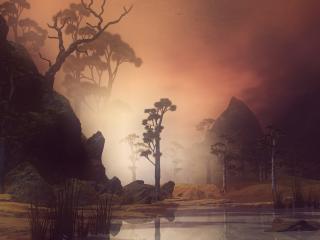 обои Магический пейзаж фото
