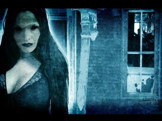 обои Призрак заброшенного дома фото