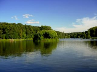 обои Царицынский пруд летом фото