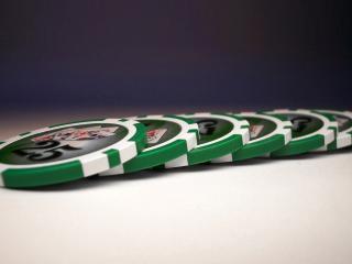 обои Игровые фишки казино фото