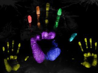 обои Отпечатки пальцев могут быть позитивными фото
