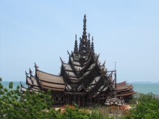 обои Храм истины Тайланд фото