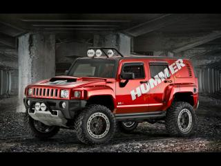 обои 2007 Hummer H3R Off Road Front And Side фото