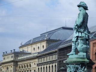 обои Памятник французскому аристократу фото