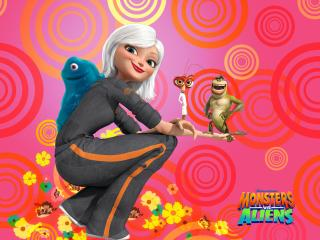 обои Dreamworks monsters vs aliens фото