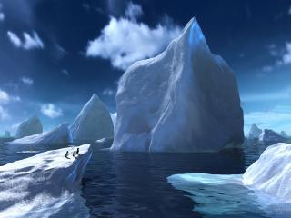 обои Холодные льды Арктики фото