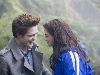 обои Эдвард и белла ржут фото