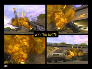 обои 24 The Game Взрыв авто фото