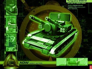 обои Act of War Зеленый танк фото