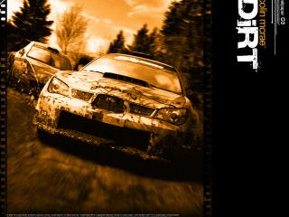 обои Colin McRae Dirt Subaru Impreza фото