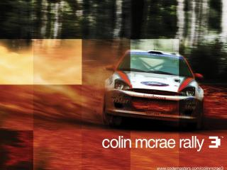 обои Colin McRae Rally 3 Ford Focus фото