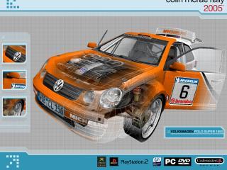 обои Colin McRea 2005 Volkswagen Polo фото