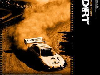 обои Colin McRea Dirt Toyota Celica фото