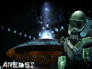 обои Area 51 Человек в костюме фото