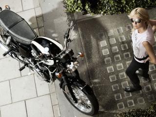 обои Bikes New Triumph Bonneville фото