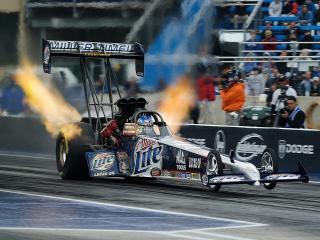 обои Miller Lite Top Fuel Dragster фото