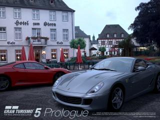 обои Gran Turismo 5 Два Ferrari фото