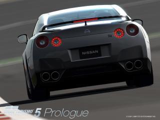 обои Gran Turismo 5 Серый Nissan фото