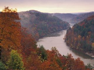 обои Cumberland River, Kentucky фото