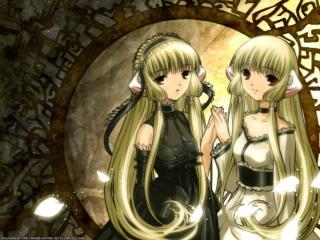 обои Чобиты - Две близняшки фото