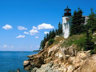 обои Bass Harbor Head Light,   Maine фото