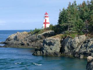 обои East Quoddy Head Lighthouse,   Campobello Island,   New Brunswick фото
