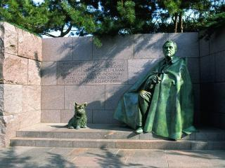 обои Franklin D. Roosevelt Memorial,   Washington D.C фото
