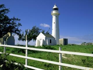 обои Grand Turk Lighthouse,   Turks and Caicos Islands фото