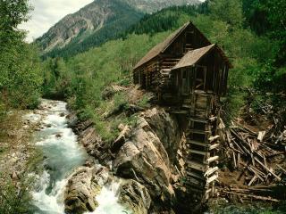 обои Lost Horse Mill,   Crystal,   Colorado фото