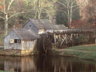 обои Mabry Mill,   Virginia фото